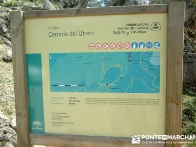 Cerrada de Utrera - Parque Natural de Cazorla; excursiones cerca madrid